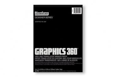 Bienfang Graphics 360 | 23 x 30 cm (9 x 12