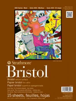 Strathmore 400 Bristol Vellum | ca. 28 x 36 cm