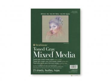 Strathmore 400 Toned Gray Mixed Media ca. 23 x 30 cm
