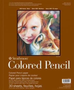 Strathmore 400 Colored Pencil | ca. 28 x 36 cm