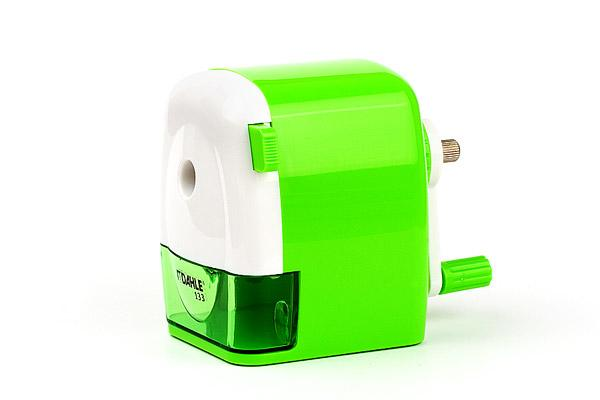 Hand Cranked Pencil Sharpener Dahle 133 green/white